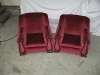 Twin Velvet chairs